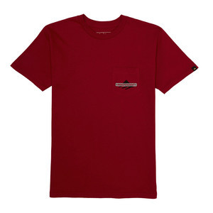 Emerica x Indy Pocket T-Shirt - Cardinal