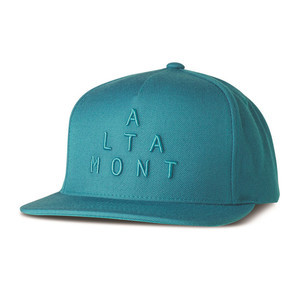Altamont Alpha Snapback Cap - Aqua
