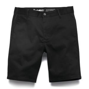 Altamont Davis Slim Short — Black