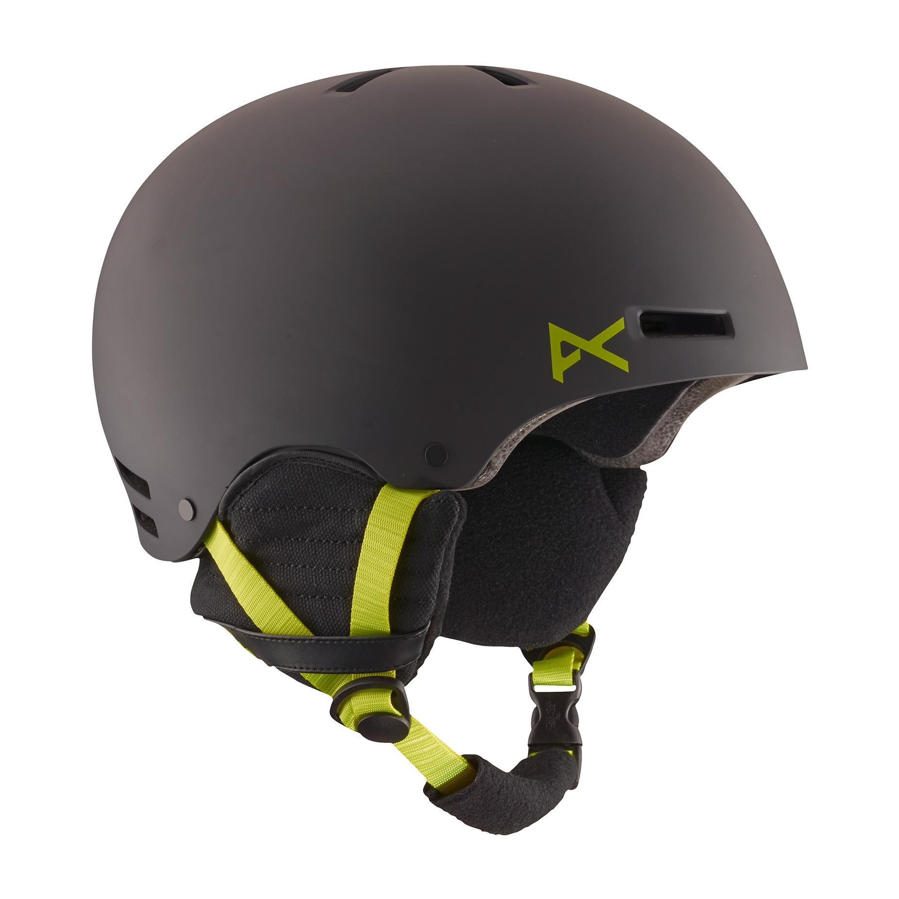 4782e7bef00 anon. Raider Snowboard Helmet - Black Green