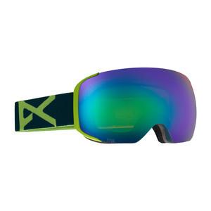 anon. M2 Snowboard Goggle - Krypto / Green Solex + Bonus Lens