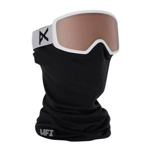 anon. Deringer MFI Women's Snowboard Goggle - White / Silver Amber