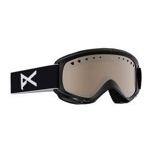 anon. Helix Snowboard Goggle - Black / Silver + Bonus Lens