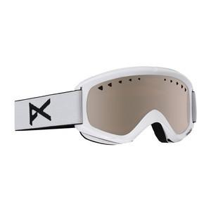 anon. Helix Snowboard Goggle - White / Silver + Bonus Lens