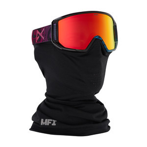 anon. Relapse Jr. MFI Kids' Snowboard Goggle - Bonehead / Red Amber
