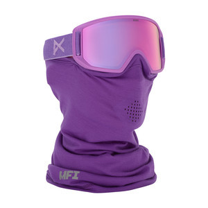 anon. Relapse Jr. MFI Kids' Snowboard Goggle - Grape / Pink Amber