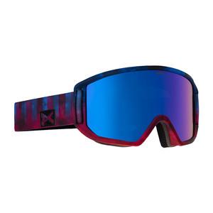 anon. Relapse Snowboard Goggle - Broken / Blue Cobalt + Bonus Lens
