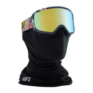 anon. Deringer MFI Women's Snowboard Goggle - Tiki/Gold Chrome