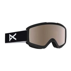 anon. Helix 2.0 Snowboard Goggle - Black/Silver Amber + Bonus Lens