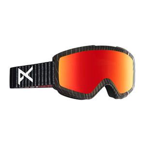 anon. Helix 2.0 Snowboard Goggle - Stryper/Red Solex + Bonus Lens