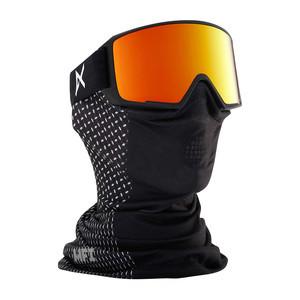 anon. M3 MFI Snowboard Goggle - Black Scale / Red Solex