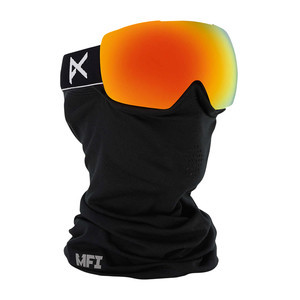 anon. Mig MFI Snowboard Goggle - Black / Red Solex