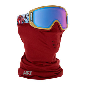anon. Relapse Jr. MFI Kids' Snowboard Goggle - Iron Man / Blue Amber