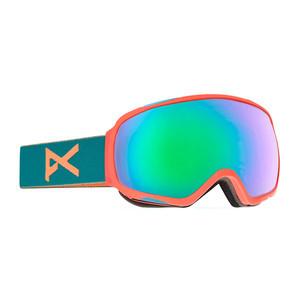 anon. Tempest Women's Snowboard Goggle - Candy / Green Solex
