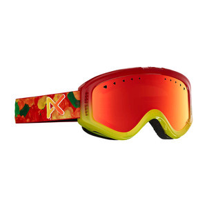 anon. Tracker Kids' Snowboard Goggle - Gummy / Red Amber