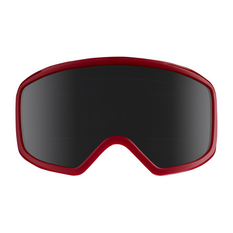 anon. Deringer MFI Women's Snowboard Goggle 2018 - Black Cherries / Dark Smoke