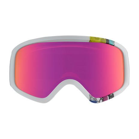 anon. Insight Women's Snowboard Goggle 2018 - Bouquet / Pink SQ
