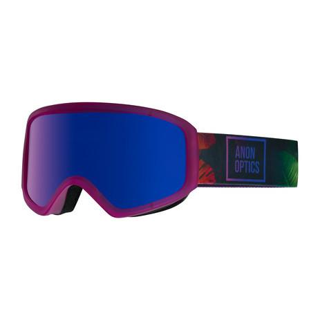 anon. Insight Women's Snowboard Goggle 2018 - Digi Tiki / Blue Cobalt