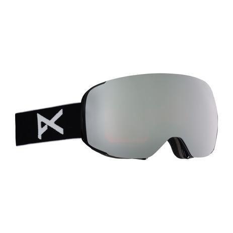 anon. M2 MFI Snowboard Goggle 2018 - Black / SONAR Silver