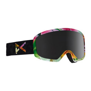 anon. Deringer MFI Women's Snowboard Goggle 2018 - Black Widow / Dark Smoke