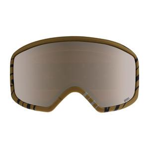 anon. Deringer MFI Women's Snowboard Goggle 2018 - Frontier Black / Silver Amber
