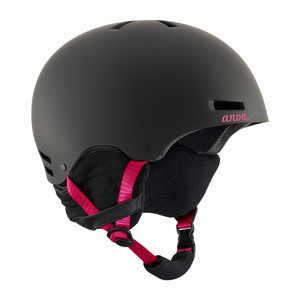 anon. Greta Women's Snowboard Helmet 2018 - Black / Cherry