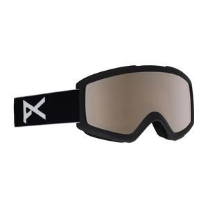anon. Helix 2.0 Snowboard Goggle 2018 - Black / Silver Amber + Bonus Lens
