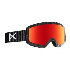 anon. Helix 2.0 Snowboard Goggle 2018 - Stryper / Red Solex + Bonus Lens