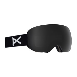 anon. M2 MFI Snowboard Goggle 2018 - Black / Polarised Smoke + Bonus Lens