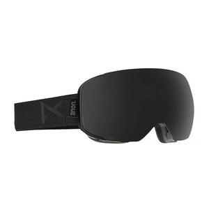 anon. M2 MFI Snowboard Goggle 2018 - Smoke / Dark Smoke + Bonus Lens (Asian Fit)