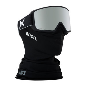 anon. M3 MFI Snowboard Goggle 2018 - Black / SONAR Silver (Asian Fit)