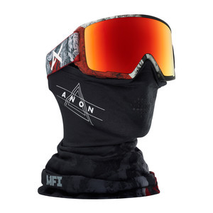 anon. M3 MFI Snowboard Goggle 2018 - Red Planet / SONAR Red
