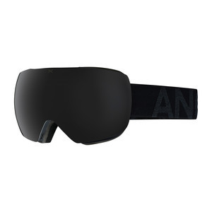 anon. MIG MFI Snowboard Goggle 2018 - Smoke / Dark Smoke + Bonus Lens (Asian Fit)