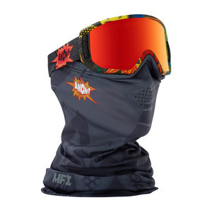 anon. Relapse Jr. MFI Youth Snowboard Goggle 2018 - Suckapunch / Red Amber