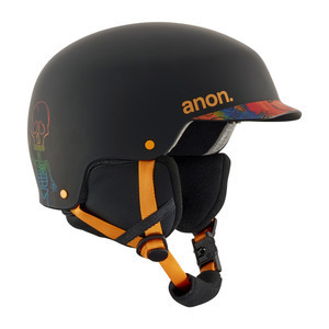 anon. Scout Youth Snowboard Helmet 2018 - Bonez / Black
