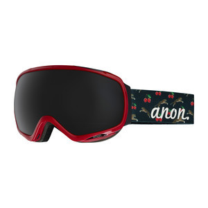 anon. Tempest MFI Women's Snowboard Goggle 2018 - Black Cherries / Dark Smoke