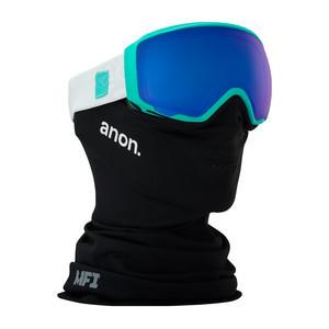 anon. WM1 MFI Women's Snowboard Goggle 2018 - Empress Teal / SONAR Blue