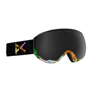 anon. WM1 MFI Women's Snowboard Goggle 2018 - Black Widow / Dark Smoke + Bonus Lens
