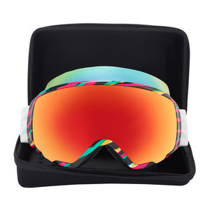 anon. WM1 MFI Women's Snowboard Goggle 2018 - Disco Tiger / Red Solex + Bonus Lens