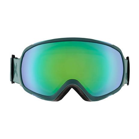 Anon Tempest MFI Women's Snowboard Goggle 2019 - Gray / Sonar Green