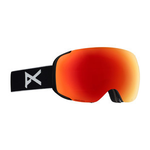 Anon M2 MFI Snowboard Goggle 2019 - Black / Sonar Red + Spare Lens
