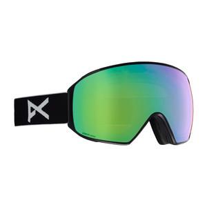 Anon M4 MFI Toric Snowboard Goggle 2019 - Black / Sonar Green + Spare Lens
