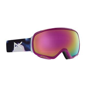 Anon Tempest Women's Snowboard Goggle 2019 - Watercolour / Sonar Pink