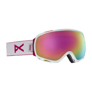 Anon Tempest Women's Snowboard Goggle 2019 - White / Sonar Pink
