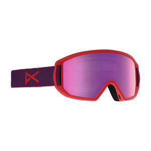 Anon Relapse Jr. MFI Kids' Snowboard Goggle 2019 - Purple / Pink Amber
