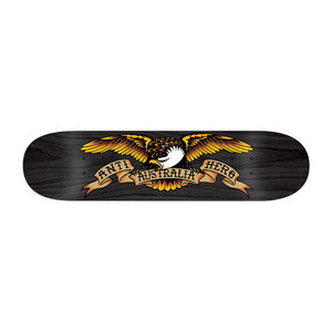 "Antihero Oz Eagle 8.5"" Skateboard Deck - Black"