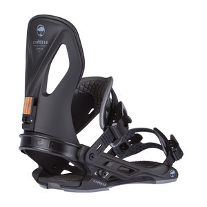 Arbor Cyprus Snowboard Bindings 2018 - Black
