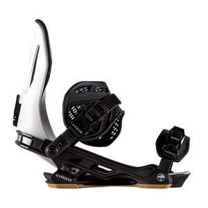 Arbor Cypress Snowboard Bindings 2019 - White
