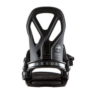 Arbor Hemlock Snowboard Bindings 2019 - Black