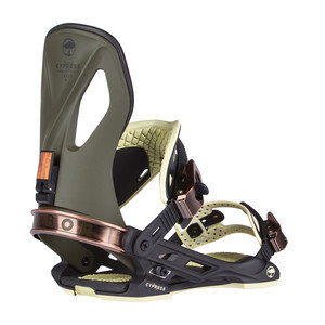 Arbor Cypress Snowboard Bindings 2017 - Brown